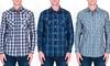 Men's Casual Plaid Button-Down Shirts: Men's Casual Plaid Button-Down Shirts