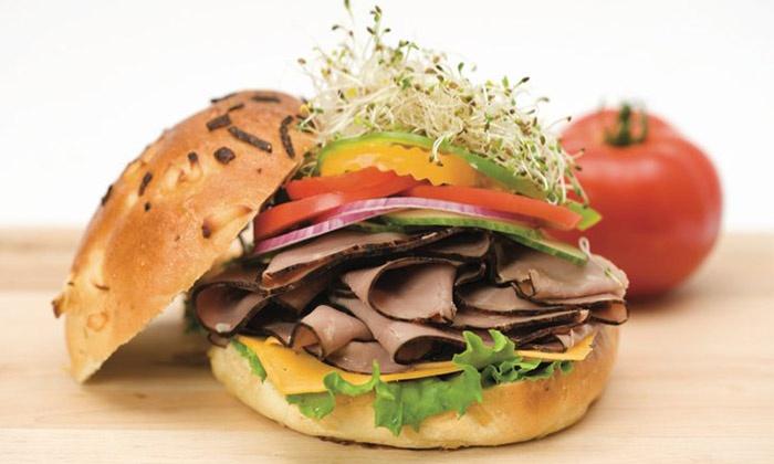 Druxy's Famous Deli - Multiple Locations: C$9 for Two Design-Your-Own Deli Sandwiches at Druxy's Famous Deli (C$15.82 Value)