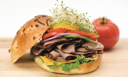 $9 for Two Design-Your-Own Deli Sandwiches at Druxy's Famous Deli ($15.82 Value)