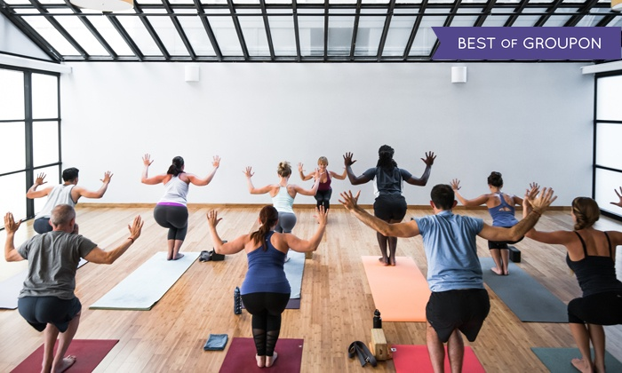 YogaWorks - Multiple Locations: 10-Class Pass or One- or Three-Month Unlimited-Class Pass at YogaWorks (Up to 74% Off)