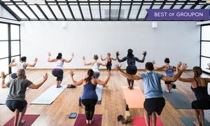 56% Off Classes at YogaWorks