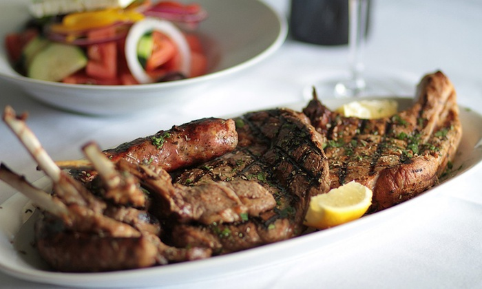 Zorbas 46 - South Hackensack: Greek Food for Two or Four at Zorbas 46 (50% Off)