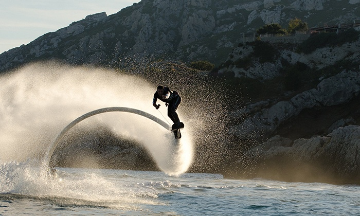 GoFly Water Aviation - Multiple Locations: $50 for a 30-Minute Flight on a Water-Propelled Hoverboard from GoFly Water Aviation ($99 Value)