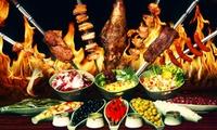 Rodizio all-you-can-eat in 10 Gängen mit Dessert für 1 bis 4 Personen in der Villa Rodizio (bis zu 31% sparen*)