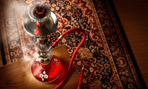 Hookah Package For Two Or Four With Mediterranean Sampler Platter And Tea At Zeeba Lounge (up To 51% Off)