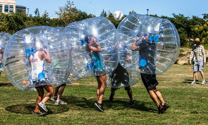 Lake County Battle Balls - Chicago: Bubble-Soccer Package for Up to 12 People or Up to 20 People at Lake County Battle Balls (Up to 32% Off)