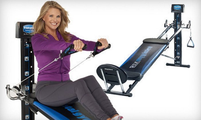 All-in-One Total Gym XLS: $595 for an All-in-One Total Gym XLS ($1,999 List Price). Free Shipping.