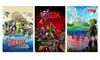 """24""""x36"""" Full-Color The Legend of Zelda Nintendo Posters: 24""""x36"""" Full-Color The Legend of Zelda Nintendo Posters"""