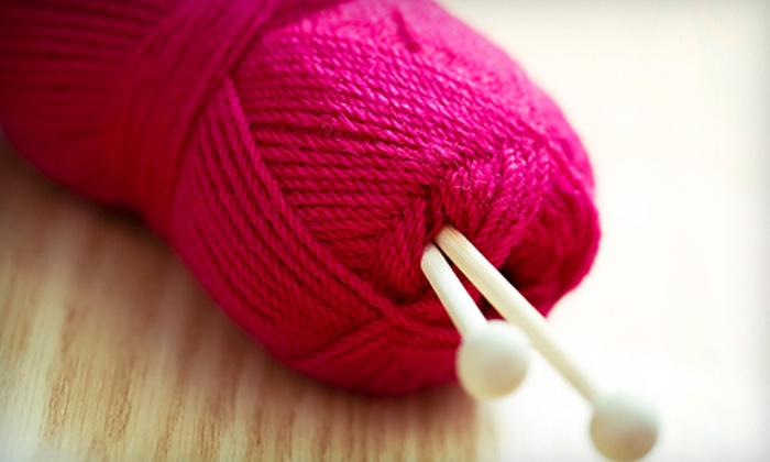 The Knitting Room - Cambrian: $10 for $20 Worth of Knitting Supplies and Yarn at The Knitting Room
