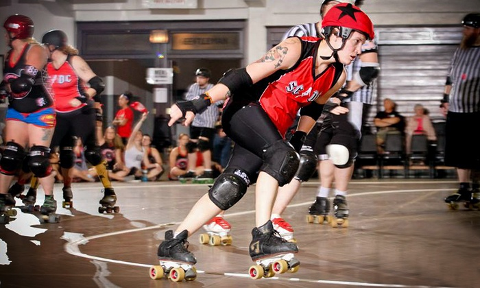 Skate To Thrill - Matteson Square Gardens: $9 for Admission to a St. Chux Derby Chix Invitational at Matteson Square Garden on April 11 and 12 ($19.62 Value)