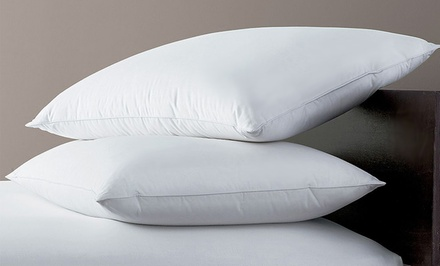 Two Hotel Peninsula Down-Blend Pillows with 100% Cotton Covers