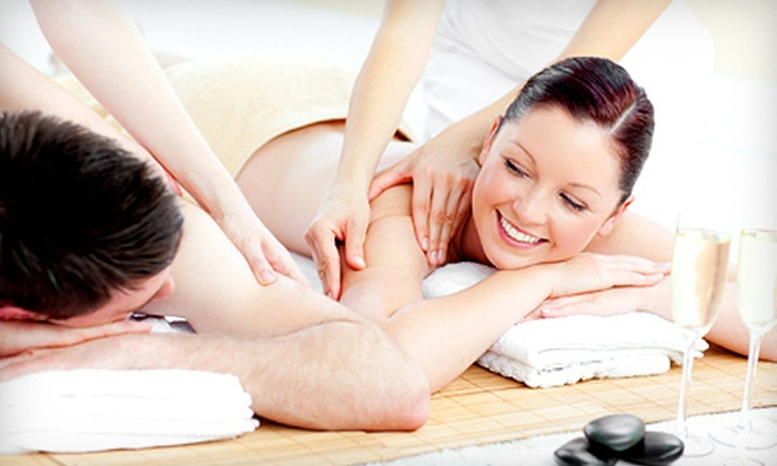 Indigo Salon and Spa - Kittyhawk: $139 for a Spa Day for Two with Massage and Detoxifying Footbath at Indigo Salon and Spa in Vandalia (Up to $324 Value)