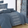 Chicera Oversized and Overfilled Linen Comforter Set (8-Piece)