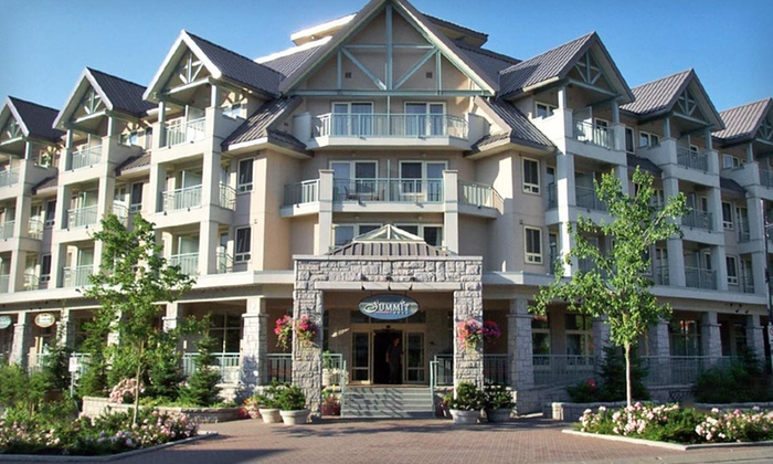 Summit Lodge & Spa - Whistler, BC: One- or Two-Night Stay at Summit Lodge & Spa in Whistler, BC