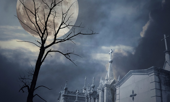 Haunted Hometowns, Corp. - Elgin: Three-Hour Elgin Cemetery Ghost Hunt for Two or Four from Haunted Hometowns (51% Off)