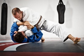 Roufusport Mixed Martial Arts Academy: Adult or Kids' Martial-Arts Classes for One or Two at Roufusport Mixed Martial Arts Academy (Up to 84% Off)