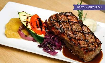Four-Course Dinner for Two, Four, or Six at Wildfire Steakhouse & Wine Bar at Cosmopolitan Hotel (Up to 50% Off)