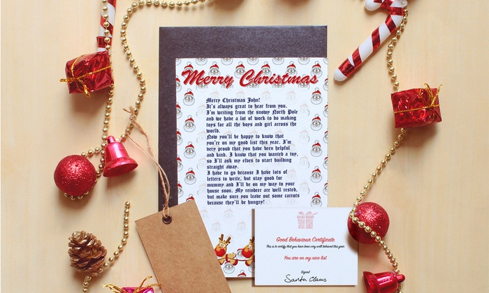 Printerpix: Custom Santa Letters from $5 by Printerpix (Up to 83% Off)
