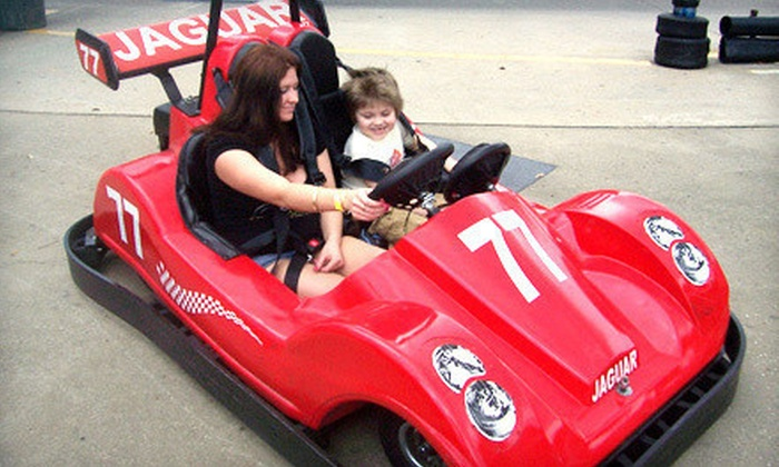 Kissimmee Go-Karts - Kissimmee: Go-Kart or Indy-Kart Package with Arcade Tokens and Gator Feeding for Two at Kissimmee Go-Karts (Up to 75% Off)