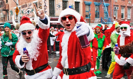 General or VIP Admission for One or Two to Santa Crawl Miami on December 12 (Up to 55% Off)