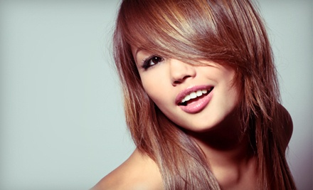 Women's Haircut with Wash and Style (a $39 value) - Star Hair Studios in Chilliwack