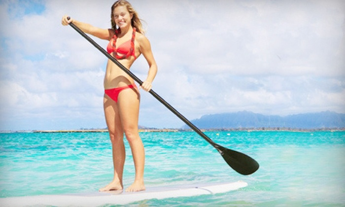 Channel Islands Kayak Center - Hollywood: Standup-Paddleboarding Lesson and Tour for One or Two from Channel Islands Kayak Center (Up to 74% Off)