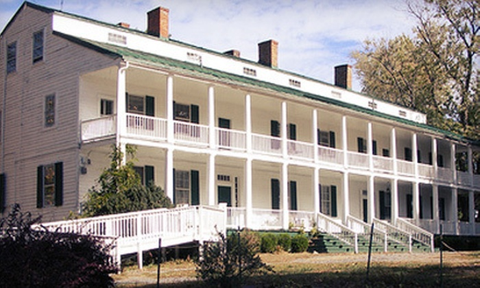 Landon House Mansion - on location: Adult or Child Admission to Sabers and Roses Civil War Wine Tour at Landon House Mansion in Frederick (53% Off)