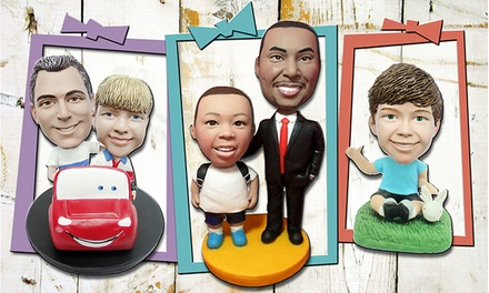 One or Two Custom Bobbleheads with Premade Bodies, or a Full Custom Bobblehead (Up to 49% Off)