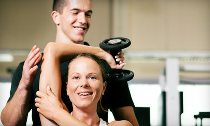 Get Fit Sacramento - Multiple Locations: 10 or 25 Classes or 4 Weeks of Fitness Classes and 2 Personal-Training Sessions at Get Fit Sacramento (Up to 83% Off)