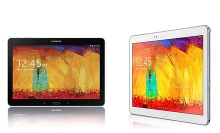 Samsung Galaxy Note 10.1 2014 Edition Tablet (Manufacturer Refurbished). 16GB and 32GB Models from $349.99–$369.99.