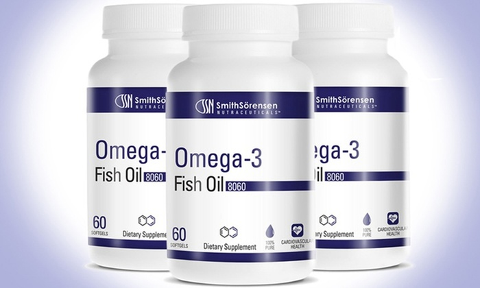 Buy 2 get 1 Free: Omega-3 Fish Oil Dietary Supplements: $12.99 for One Bottle of Omega-3 Fish Oil Supplements or $24.99 for Two Bottles with One Free Bottle