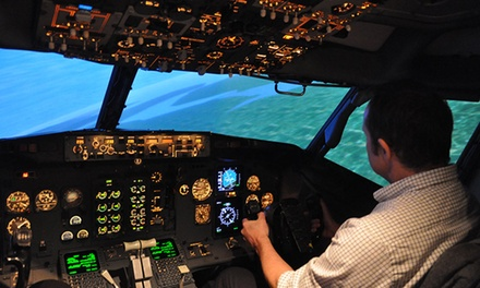 Passenger Jet Simulation Session for Junior Pilots at Jet Simulation (Up to 56% Off)