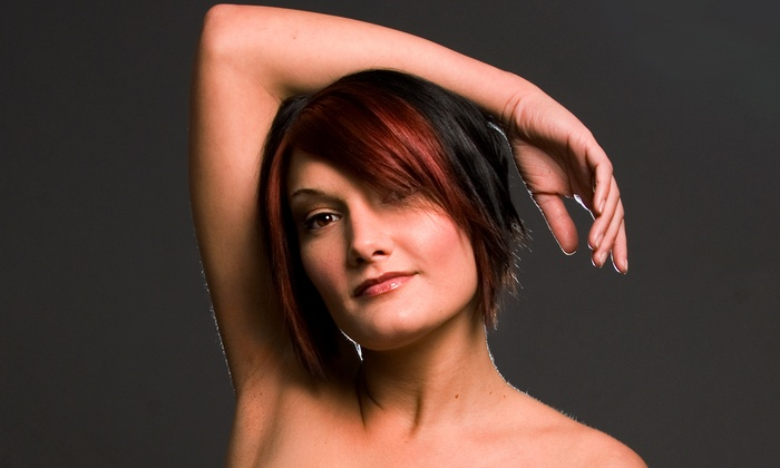 Dolcissima Salon and Spa - North Wales: Haircut with Conditioning and Optional Color or Highlights at Dolcissima Salon and Spa (Up to 51% Off)