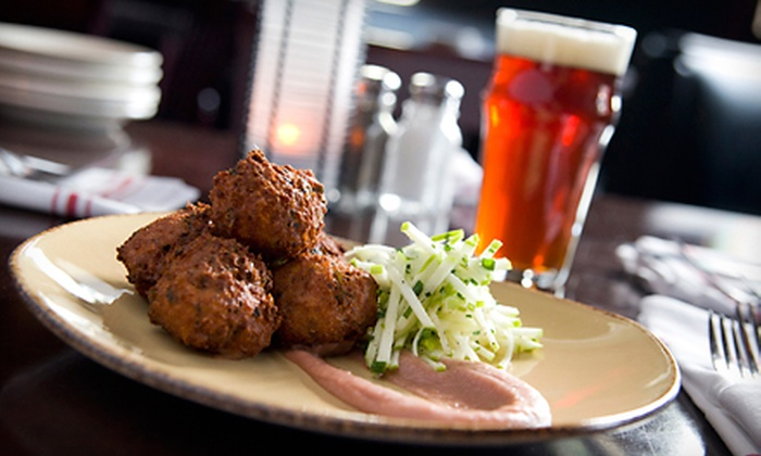 Gilly's in the B.O.B. - Heartside-Downtown: Small Plates and Microbrews at Gilly's in The B.O.B. (Half Off). Two Options Available.