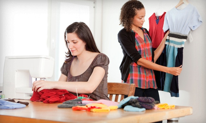 Esaie Couture Fashion Design School - Prospect Park Sout,Prospect Park South,Flatbush: Four-Hour Sewing Class for One or Two at Esaie Couture Fashion Design School (Up to 64% Off)