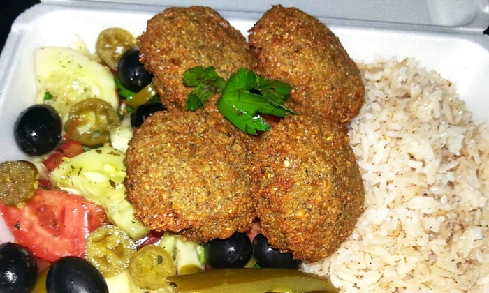 Falafel Den - Falafel Den: $12 for $20 Worth of Takeout Mediterranean Food and Home-Made Falafel at Falafel Den
