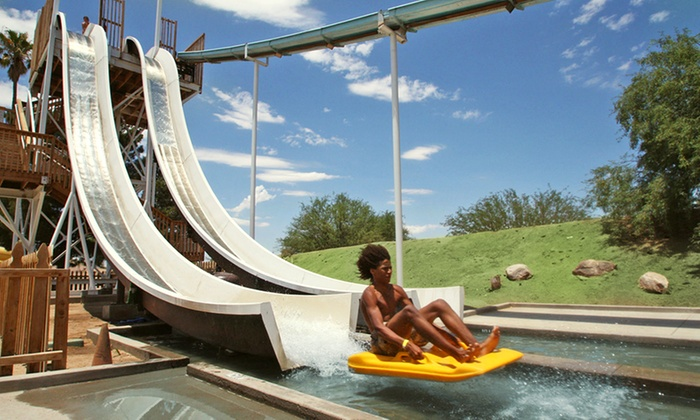 Breakers Water Park - Marana: $34.95 for a Breakers Water Park Season Pass with a Soda and Souvenir Cup (Up to $62.95 Value)