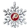 NFL Redskins Snowflake Ornament