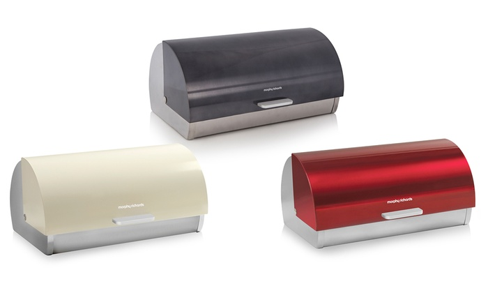 morphy richards bread bin groupon goods. Black Bedroom Furniture Sets. Home Design Ideas