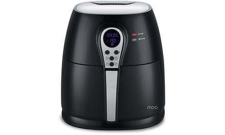 Moa Design AirFryer LED Zwart