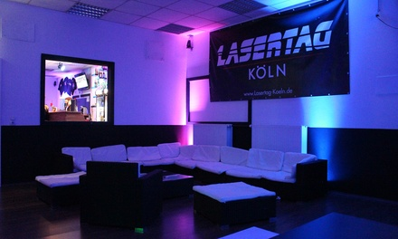 45 Min. Lasertag für 6-10 Personen inkl. je 1 Getränk nach Wahl bei LaserTag Köln (bis zu 46% sparen*)