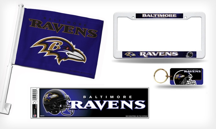 NFL Car-Tailgate Accessories: $10.99 for NFL Car-Tailgate Accessories ($24.99 List Price). 26 Teams Available.