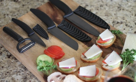 Seven-Piece Ceramic Knife Set
