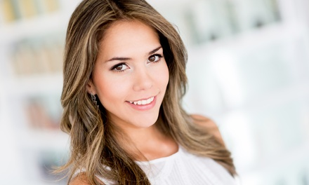 Haircut and Deep-Conditioning Treatment with Option for Partial or Full Highlights (Up to 61% Off)