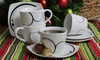8-Piece Porcelain Coffee-Cup Sets: 8-Piece Porcelain Coffee-Cup Set. Multiple Styles Available. Free Returns.