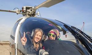 Helico sun: Survol du Pays aux Pierres Dorées, Beaujolais, Lyon, ou Lac des Sapins en hélicoptère dès 109 € avec Helico Sun