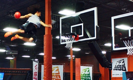 $14.25 for Two 60-Minute Jump Passes at Sky Zone Fort Myers ($26 Value)