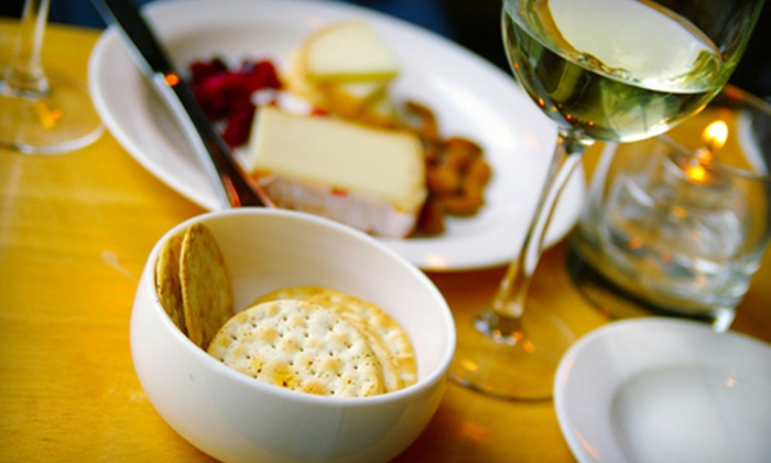 Wildside Winery - Versailles: Cheese Plate and Souvenir Wine Glasses for Two or Four at Wildside Winery (Up to 60% Off)