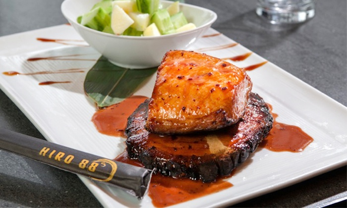 Hiro 88 - Hiro 88 - West Haymarket: $65 for a 6-Course Pan-Asian Dinner with Sparkling Wine at Hiro 88 on Wednesday, June 4 ($110 Value)