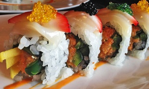 East Moon Asian Bistro & Sushi Centennial: $13 for $20 Worth of Asian Food and Drinks at East Moon Asian Bistro & Sushi